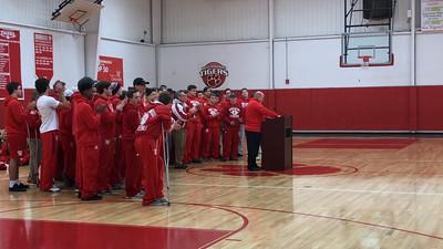 Varsity Football 2016 state champ celebration video (Melanie Stricker)