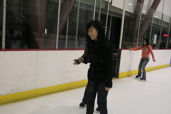 Ice Skating at Yerba Buena