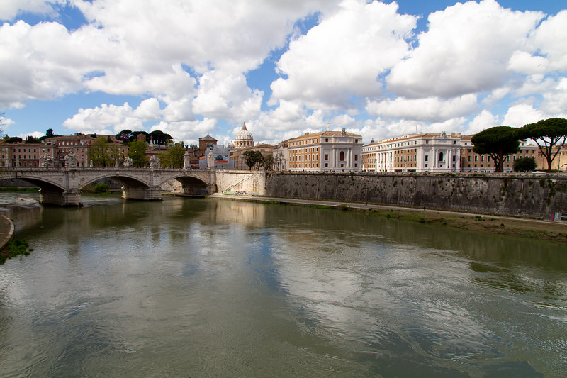 Vatican from Ponte Sant'Angelo