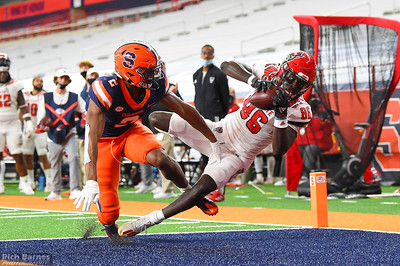 NCAA Football: NC State at Syracuse; 11/28/20 (Shot for NC ST)