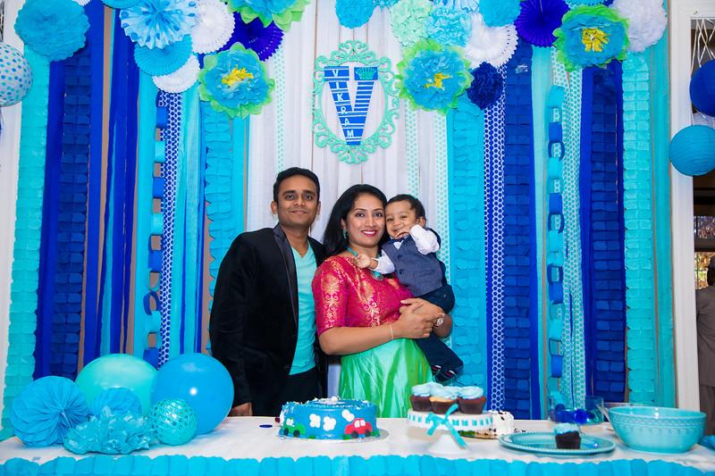 Vikram 1st Bday