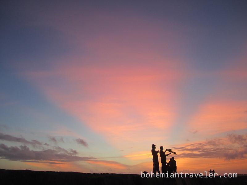 flying a kite Sunset on Galle Fort Sr Lanka.jpg