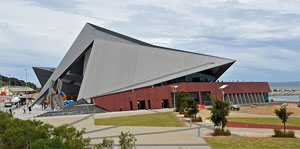 Photograph of Albany Entertainment Centre exterior