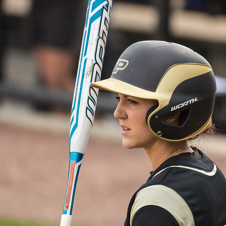 Purdue Softball vs Indiana State 2015-4-29