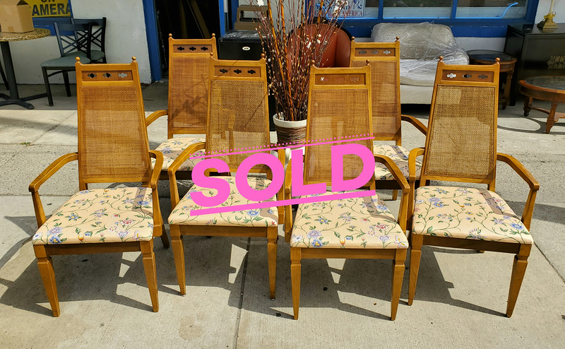 Pecan Dining Room Chairs