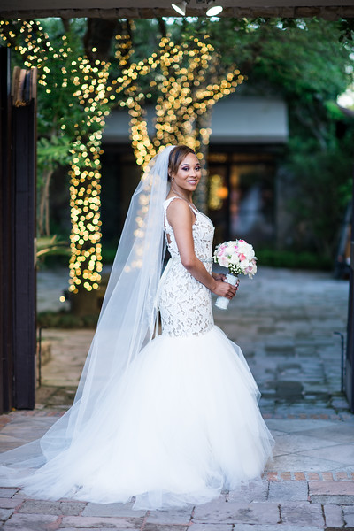 Tag: teddi, darren, TLC, Say Yes to the Dress, @realweddings , @celebstylewed , @kleinfeld , (let's tag as many accounts as possible, especially vendors) #huffpostido ,  , bell tower on 34th. // Hashtag: #celebrityweddings / // Teddi is STUNNING! Bridal shot under an archway at the bell tower, right before introductions at the reception //   ESP Featured on Say Yes to the Dress!!! Our team flew out to Houston to photograph this beautiful  Wedding.