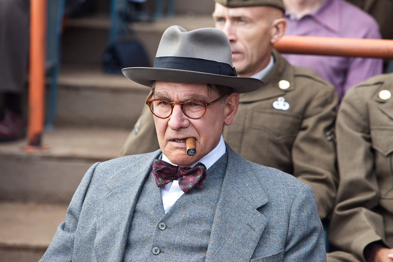 """. HARRISON FORD as Branch Rickey in Warner Bros. Pictures� and Legendary Pictures� drama � \""""42\"""" a Warner Bros. Pictures release."""