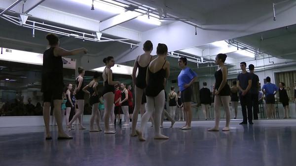 2015-05-31 RLF NYAB Sleeping Beauty Studio Rehearsal Videos