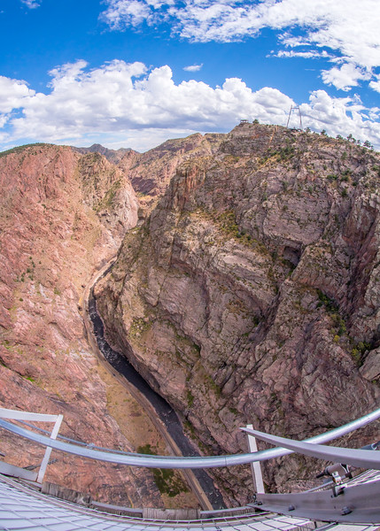 Royal Gorge view from the bridge