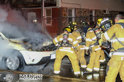 Car Fire - 75 Stillwater Ave, Stamford, CT - 11/21/18