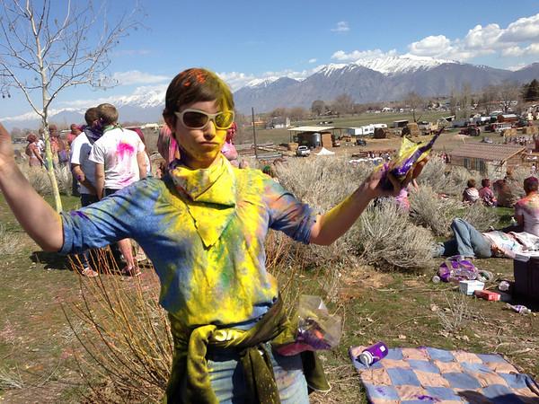 Festival of Color 2013 Sanish Fork, UT Photos - Videos