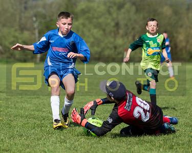 Saron Juniors U13 v Loughor Rovers