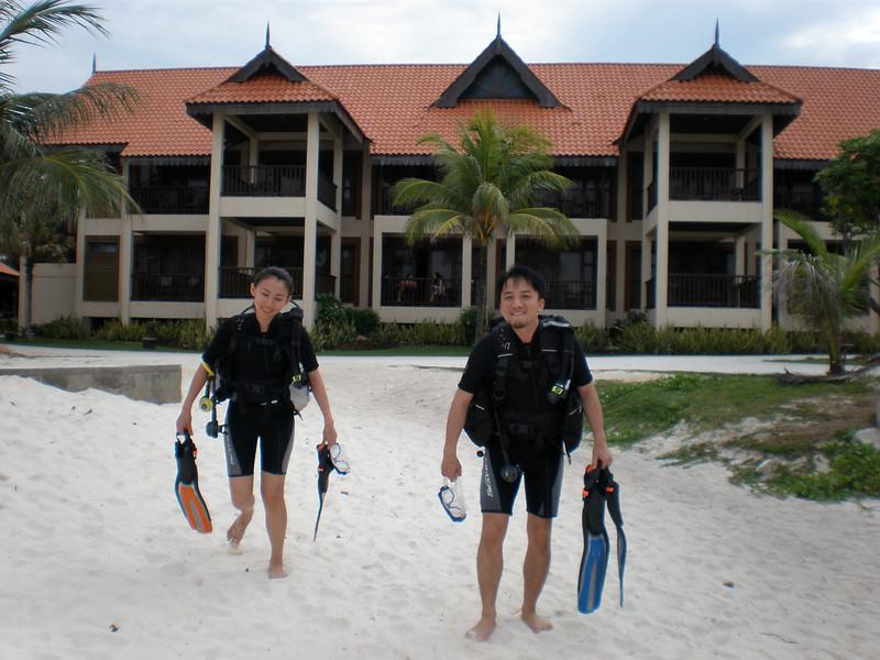 [20080515] Will & Bee Scuba Diving @ Redang (18).JPG