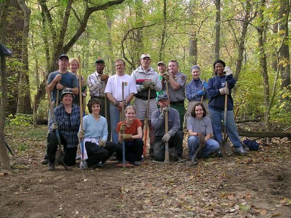 Trail Work in Rock Creek Park