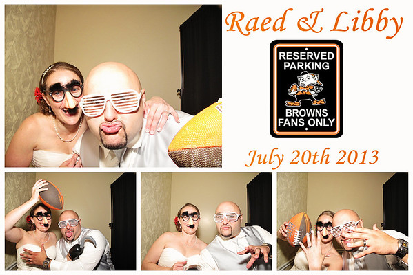 Libby & Raed Wedding Photo Booth Pictures
