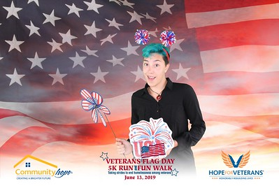 Community Hope Flag Day 5K Run and Fun Walk