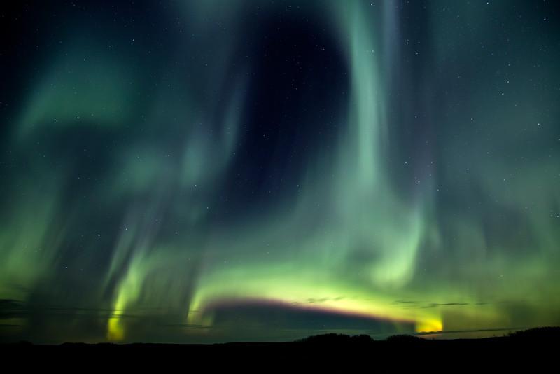 Dancing Lights - Near Aberdeen, Saskactchewan