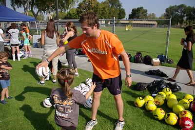 Kelli Soccer Camp