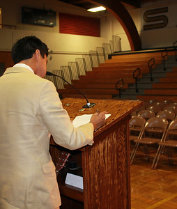 Senior Speeches 2012