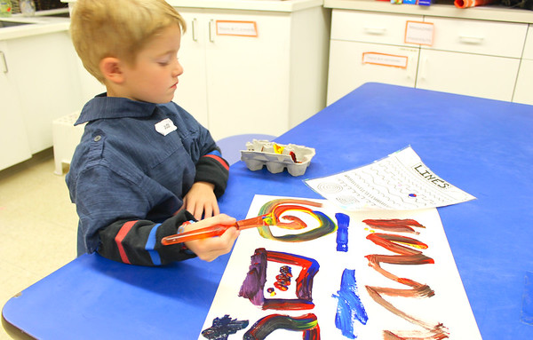 "PreK ""This is Art"" Self Portrait Collages"