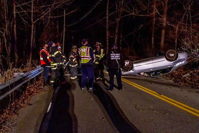 12-16-2020 MVA Rollover, Sprout Brook Road