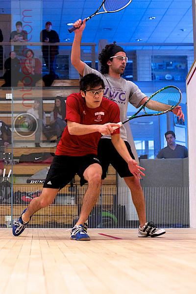 2011-02-26 Rafik Bhaloo (Western Ontario) and Alex Hsu (Brown)