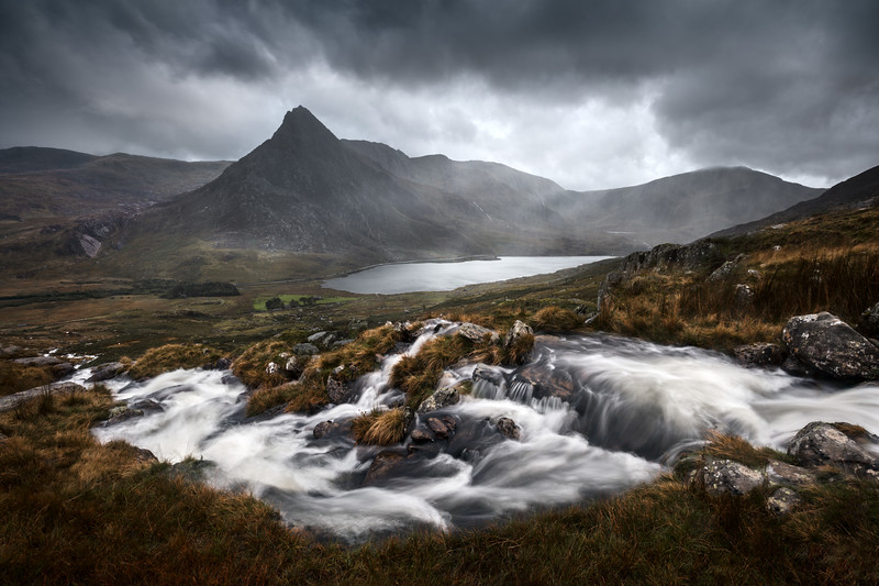 AMAZING bad weather for landscape photography in Snowdonia