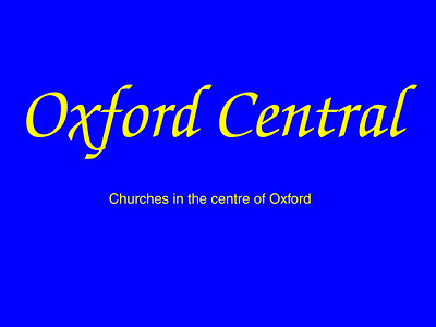 Oxford (Central)