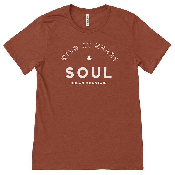 Organ Mountain Outfitters - Outdoor Apparel - Womens T-Shirt - Wild At Heart Tee - Heather Clay.jpg