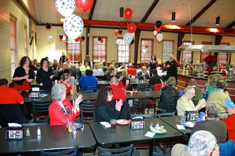 United Way breakfast honoring giving at Gardner-Webb University.