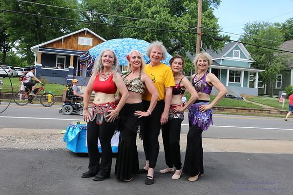 2018 Open Streets Knoxville - Sandsation Dancers