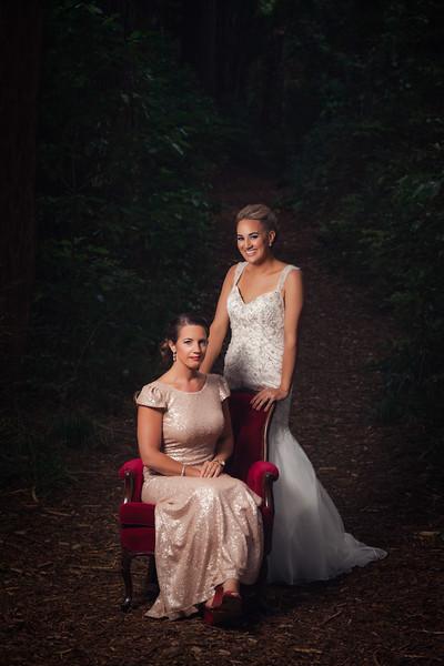 Bride & Bridesmaid