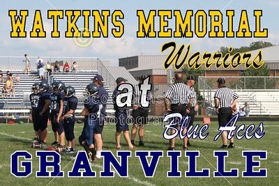 2011 7th GRADE  - Watkins Memorial at Granville (08-23-11)