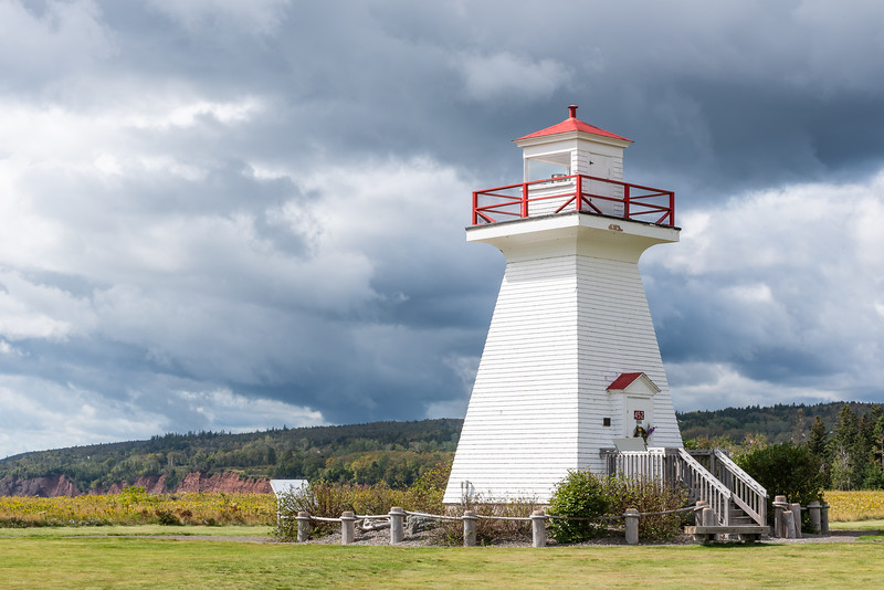"""Five Islands Park and the 1913 """"Pepper Pot"""" lighthouse"""