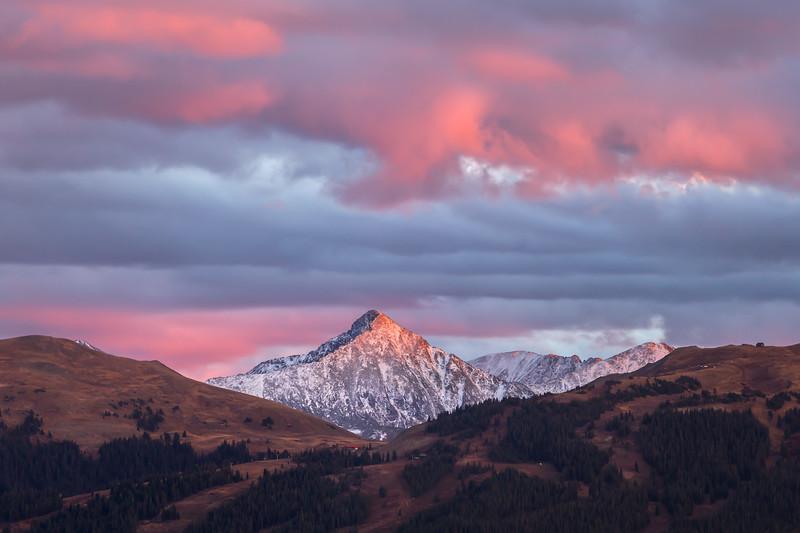 Pacific Peak Sunset