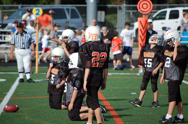 Chagrin JV Football- Black vs. Chagrin Orange '07
