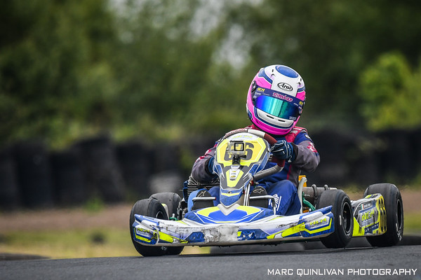 Motorsport Ireland Karting Championship 2019 - Round 4 - Nutts Corner - Éimear Carey