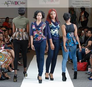 African Fashion Week DC 2015 - AFWDC - AFWDC Runway Fashion Show and Vendors - Indigo Tides 3-21-2015