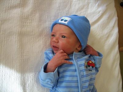 Caleb is born!