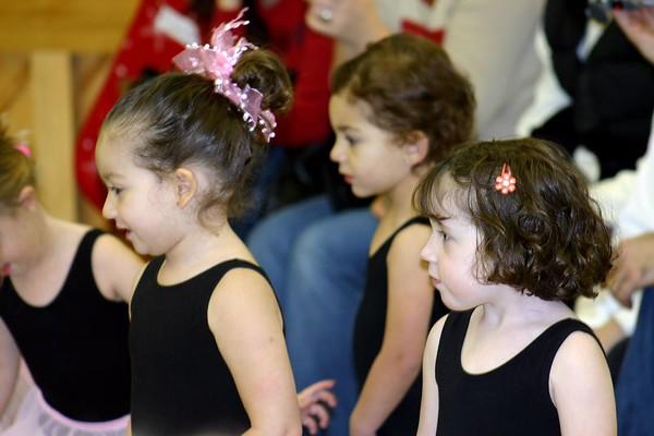 Rosie's ballet class