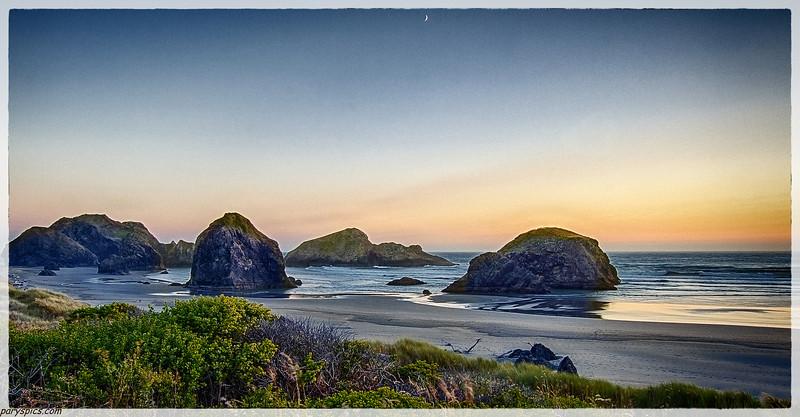 Oregon coast (Gold beach, Bandon beach mostly)