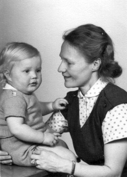 Magnus och mamma