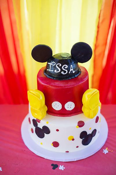 Issa's 1st Birthday!