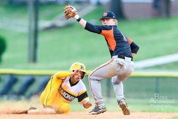 NDHS Baseball vs RJ Reynolds 2017