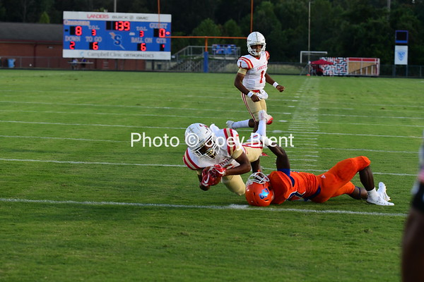 LHS FB at Southaven 8-30-19