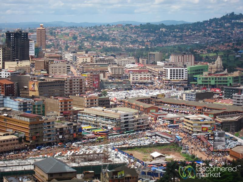 Kampala Skyline, Taken from Gaddafi Mosque - Kampala, Uganda