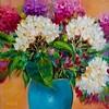 Rainbow Hydrangeas Bouquet