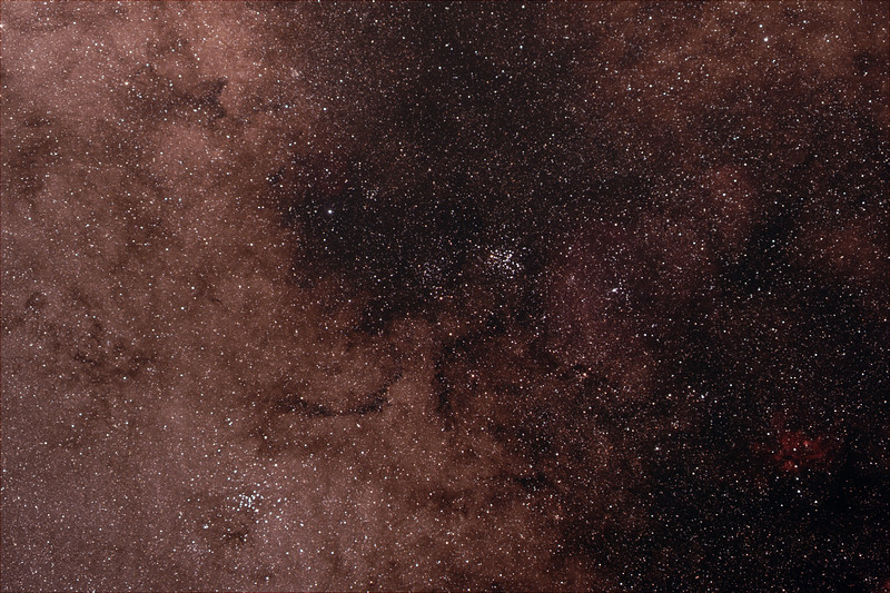 Scorpius around M6, M7 clusters and War & Peace nebula - 19/4/21 (Processed stack)