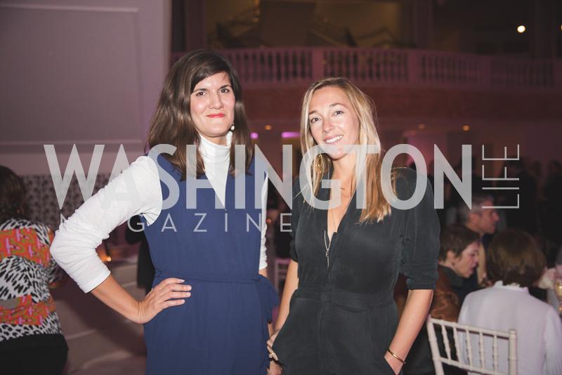 Svetlana Legetic, Lydia Bell. Photo by Bruce Allen. 2018 Rodarte Exhibition Reception