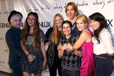 Genlux Magazine and Chaz Dean Studio Reopenning party 05.12.11